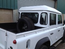 Land Rover Double Cab Waxoyl and Raptor Liner