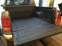 VW Amarok Raptor Bedliner treatment